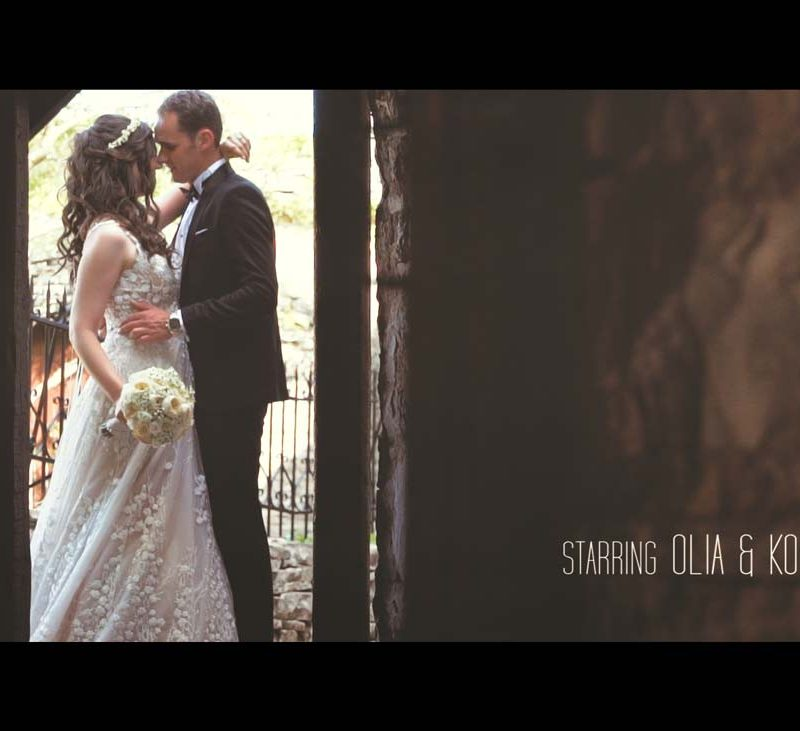 Olia & Konstantinos wedding clip in Papigo